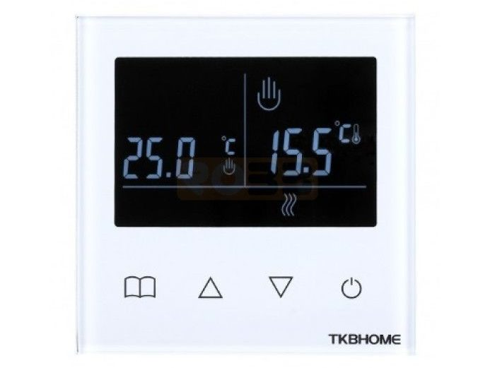 TKB Z-wave thermostaat incl voeler vloerverwarming
